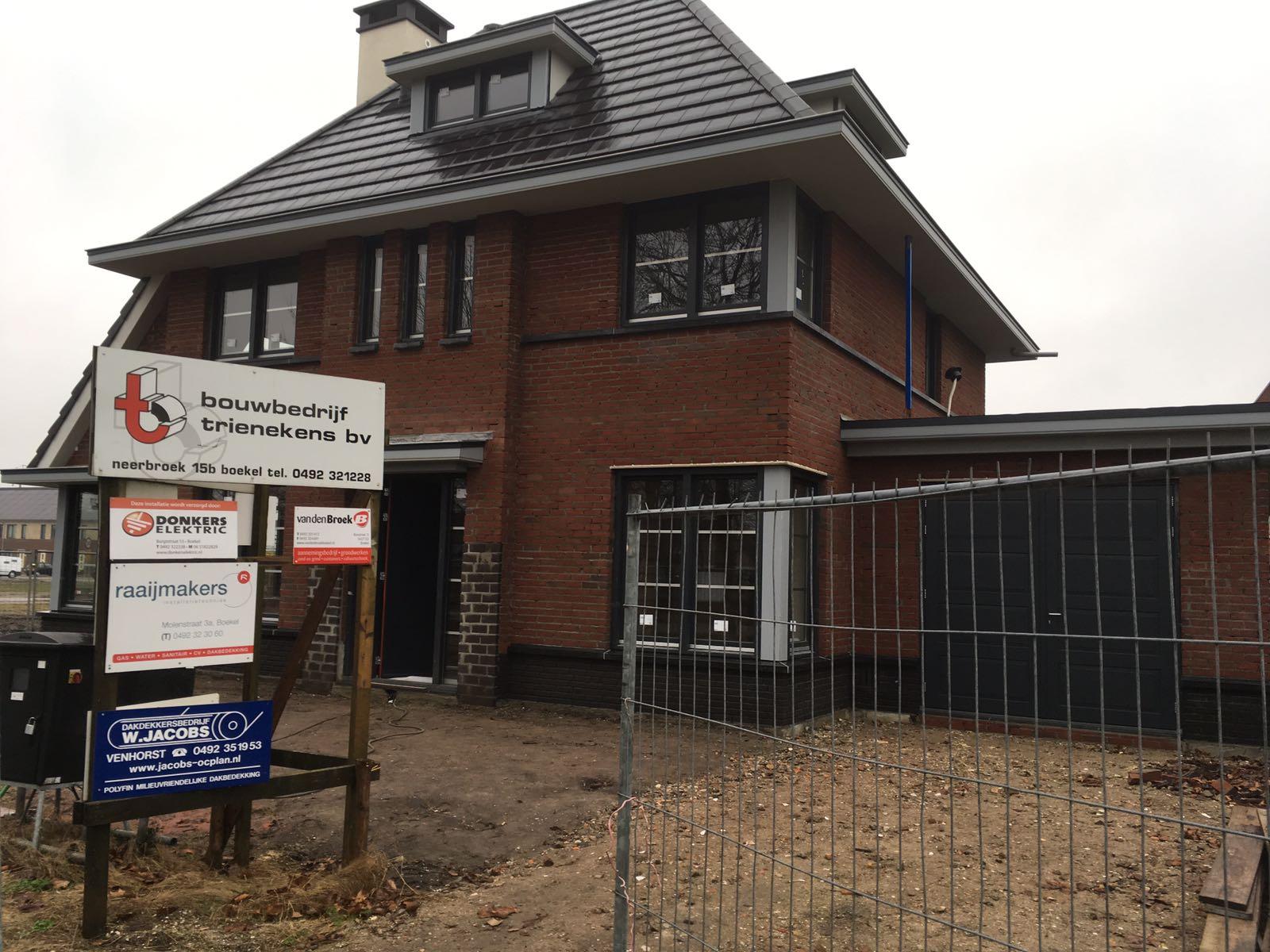 Nieuwbouw vrijstaande woning Donkstraat Boekel